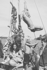 Sumbawa pride: life on a boat with eleven kids,  Alex Vaughan, National Photographic Portrait Prize.