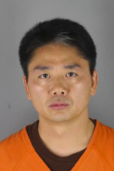 Chinese billionaire Liu Qiangdong, also known as Richard Liu, who was arrested in Minneapolis on suspicion of criminal sexual conduct.