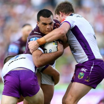 Penrith target: Lloyd Perrett has been linked to the Panthers.