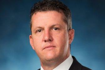 Bernie Smith, Secretary of the NSW branch of the SDA.