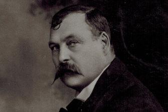 The Smiler, c. 1908.