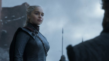 With King's Landing in ruins, Daenerys was finally ready to get her hands on the Iron Throne.