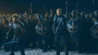 The highly anticipated Battle of Winterfell.