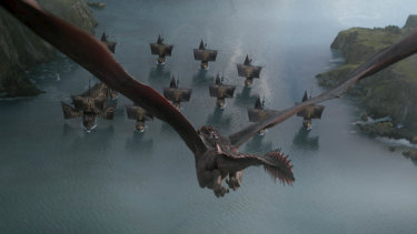 The ship hits the fang: Daenerys's dragons are powerful, but they're not impregnable.