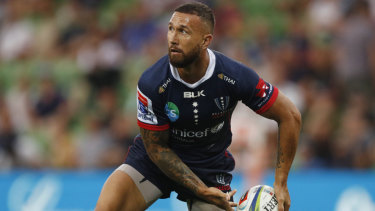 Looking good: Quade Cooper has impressed at the  Rebels.