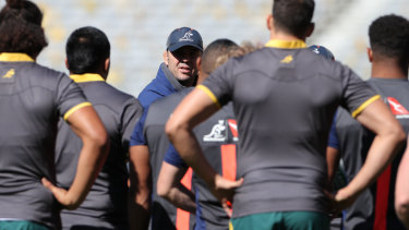 There is no love lost between Wallabies coach Michael Cheika and All Blacks coach Steve Hansen.