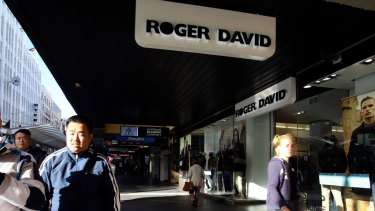 Roger David flags national closing down sale as it collapses