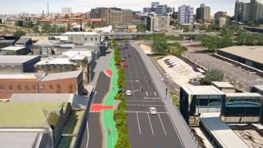 Construction on the Woolloongabba Bikeway is expected to start in 2018.