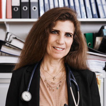 Professor Maria Fiatarone Singh, a University of Sydney geriatrician.