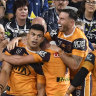 Fifita fires as Broncos make themselves at home in new Cowboys stadium