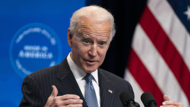 President Joe Biden previously criticised George W Bush for saying the US would defend Taiwan if attacked militarily by China.