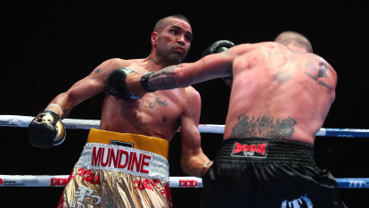 'Why are you doing this?': Mundine reveals dad's fears before fight