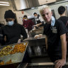 'It's humbling': The young man behind 50,000 free meals for front-line workers