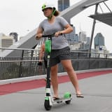 Superintendent David Johnson said police were supportive of the Lime scooter trial.