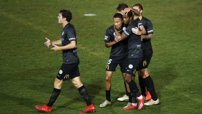 Harrison delivers first City goal, and wants more in finals chase