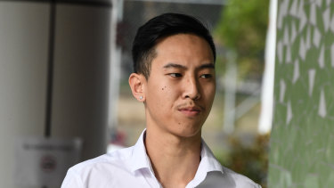 Mr Mokmool's brother Charlie Huynh pictured last month.