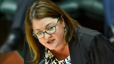 Corrections Minister Natalie Hutchins is considering a run for the new seat of Hawke.