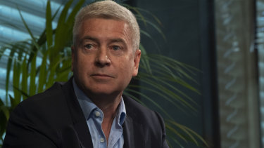 Peter Allen, CEO, Scentre Group.