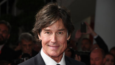 Ronn Moss at the Venice Film Festival in September 2019.