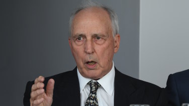 Former prime minister Paul Keating supports a national insurance scheme to help people who outlive their super.