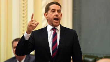 Queensland Minister for State Development, Manufacturing, Infrastructure and Planning Cameron Dick.