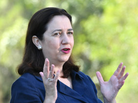 Premier Annastacia Palaszczuk says she wont hesitate to clamp back on restrictions if cases rise.