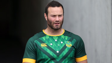Across the Tasman: Kangaroos captain Boyd Cordner.