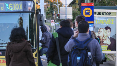 The government says express buses from the north west to the central city via the M2 motorway will remain unchanged.
