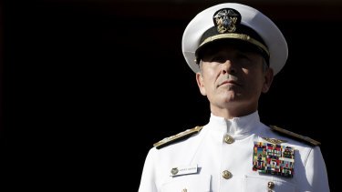 Admiral Harry Harris.