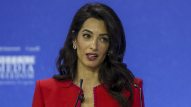 Human rights lawyer Amal Clooney has welcomed the Australian government's consideration of Magnitsky-style legislation.