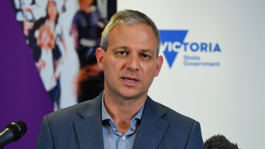 Victoria's Chief Health Officer Brett Sutton refused to name the facility.