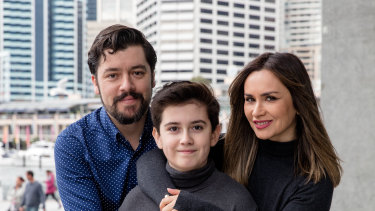 Alfredo Dattwyler, his wife Nivia and son Alfredo Jr hope to finally fly home to Chile on Monday after several months stranded in Sydney due to coronavirus.
