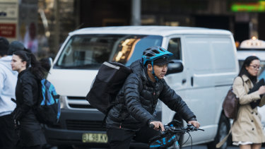 Uber Eats is overhauling its contracts with riders from March.