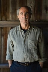 Novelist Philip Roth in 2005 at his home in Connecticut.