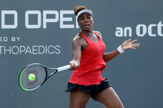 Venus Williams will come up against her sister for the 31st time.