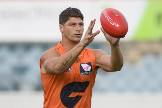 Jon Patton joins Hawthorn this year from GWS.