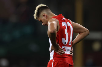 Elijah Taylor's first year in the AFL system couldn't have gone any worse.