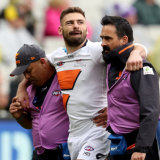 The Giants are still waiting on a decision from off-contract star Stephen Coniglio.