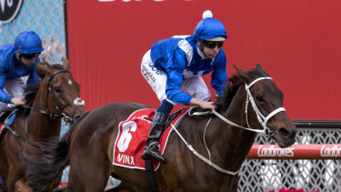 Back to trial: Winx will start her final campaign with a barrier trial at Rosehill on Tuesday