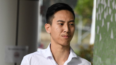 Mr Mokmool's brother Charlie Huynh at the inquest on Friday.