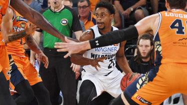 Casper Ware starred for United against the Taipans.