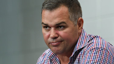 """""""I did not white ant Michael Maguire"""" ... Broncos coach Anthony Seibold wants to set the record straight."""
