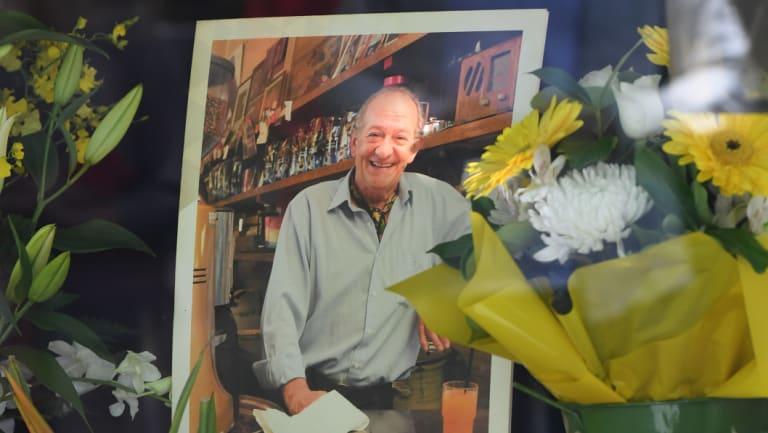 A tribute to Mr Malaspina at Pellegrini's.