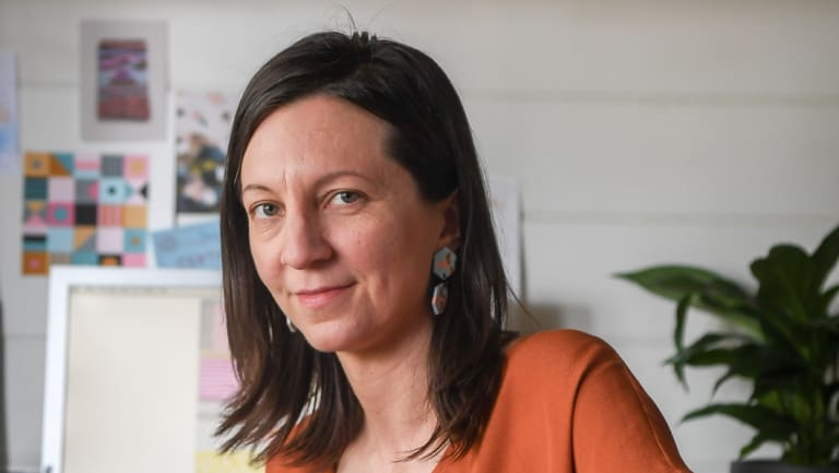 Tess McCabe campaigned for changes to paid parental leave for small business owners.