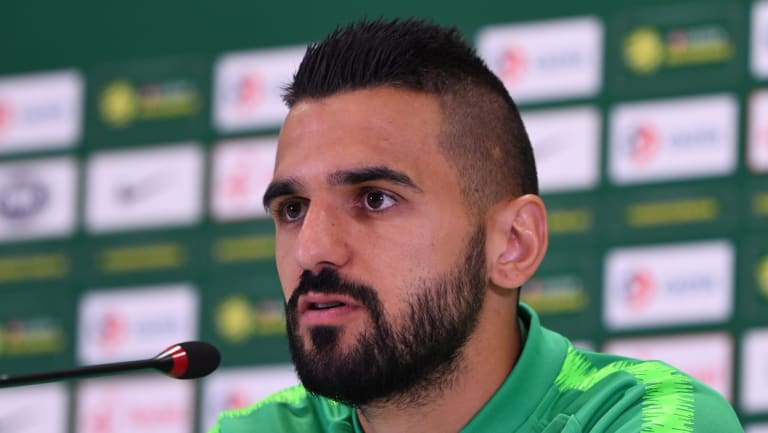 Aziz Behich had to dig deep to rebuild his career when Victory released him.