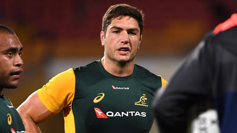 Rob Simmons had to make a mad dash to the airport to get to Brisbane for the Wallabies clash with South Africa.