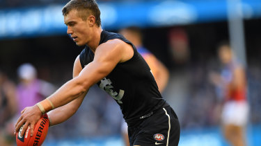 Teague said Patrick Cripps was back to being to a 'great player' on Saturday.