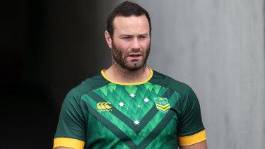 Across the Tasman: Kangaroos captain Boyd Cordner.