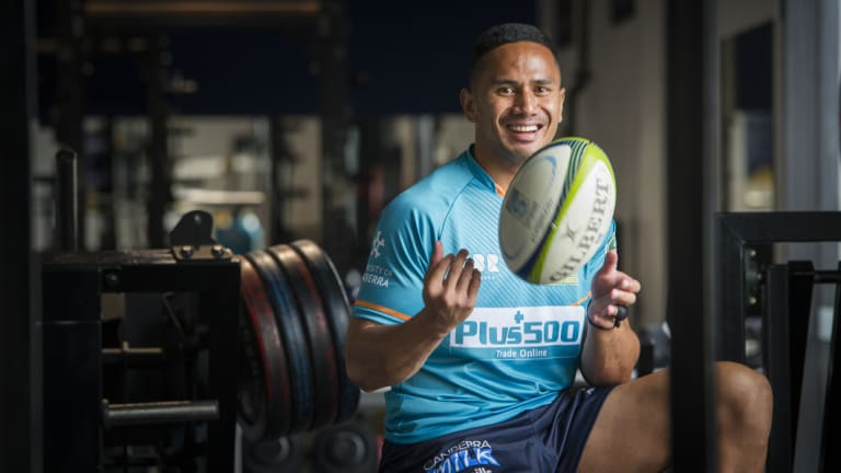 Brumbies recruit Toni Pulu was once dubbed the fastest man in New Zealand rugby.