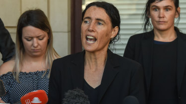Lawyer Tamar Hopkins lobbied for Sergeant Konstantinidis to be moved.